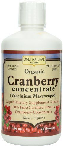 Organic Cranberry has long been linked to helping with urinary track health, and recent research is beginning to bear this out. When a cranberry is in its juvenile state, it is green and bitter, making it unpalatable to most animals. This is a matter of survival. At this early stage, the... more details at http://supplements.occupationalhealthandsafetyprofessionals.com/herbal-supplements/cranberry/product-review-for-only-natural-organic-cranberry-concentrate-32-ounce/