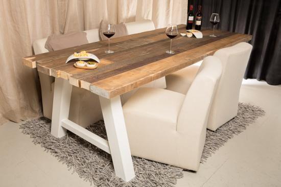 25 beste idee n over stalen meubelen op pinterest staal lasprojecten en lassen - Eigentijdse eettafel ...