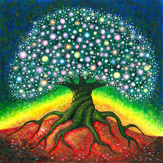 Tree of Life print by Jason Gianfriddo https://www.etsy.com/listing/191942060/tree-of-life-giclee-fine-art-print