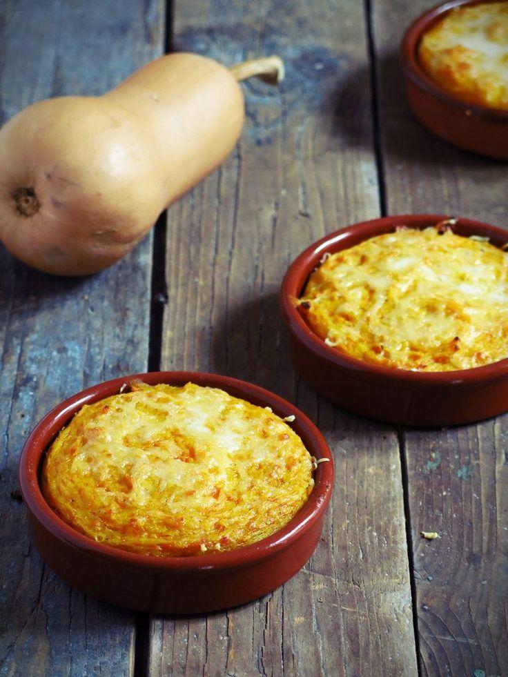 gratins de butternut à la polenta                                                                                                                                                                                 Plus