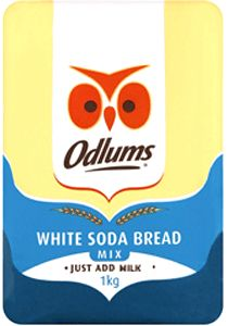 One of the great Irish bread recipes – Irish Soda Bread – is available from Odlums in an easy to use mix. Whether you prefer White or Brown Soda Bread, Odlums has the mixes to help you make a great bread the family will enjoy.