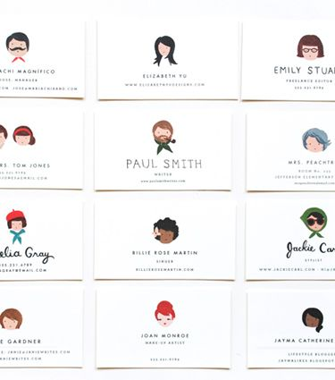 rifle paper co. personalized calling cards