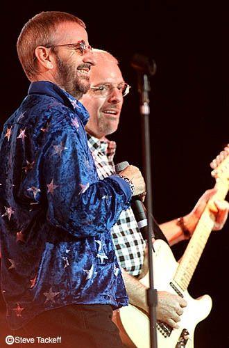 Ringo Starr and Peter Frampton