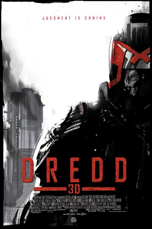 Dredd 3D: Check out the Mondo poster for tomorrow's Fantastic Fest screening
