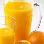 Centrifugato ananas e arancia