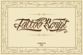 Image result for gangster script tattoo fonts
