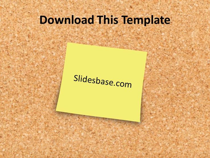 102 best powerpoint templates images on pinterest products deadlines post it notes yellow stickies corkboard powerpoint toneelgroepblik Images
