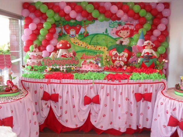 frutillita on Pinterest | Strawberry Shortcake Birthday, Fiestas ...