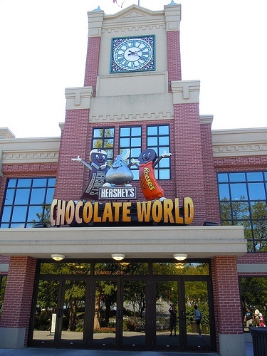 Hershey Chocolate World, Hershey PA--smells so good there!! Went for Spring Break--yummy!