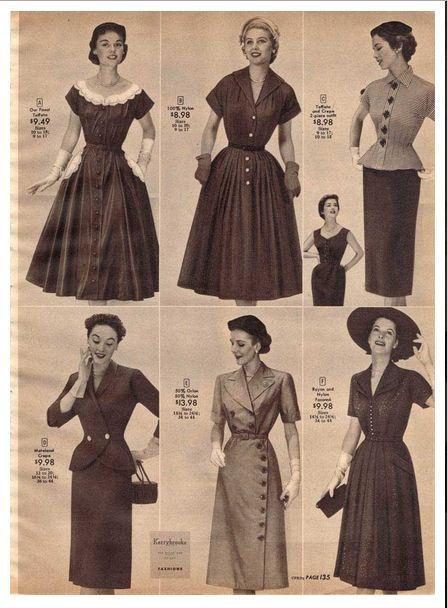 17 best images about fashion in the 1950 s b on