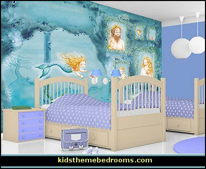 10 best images about little mermaid bedroom ideas on for Sea green bedroom designs