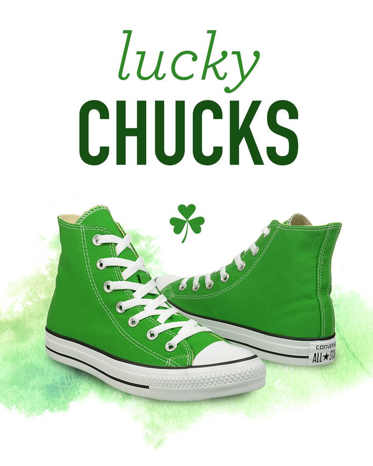 Outfit Ideas For St. Patrick's Day, read more on our blog, Footnotes! #stpatricksday #converse