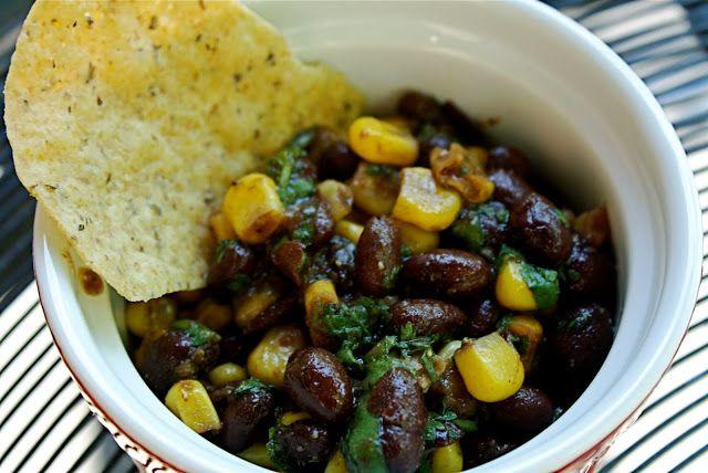 Corn and Black Bean Salsa. | Inspire - Food | Pinterest