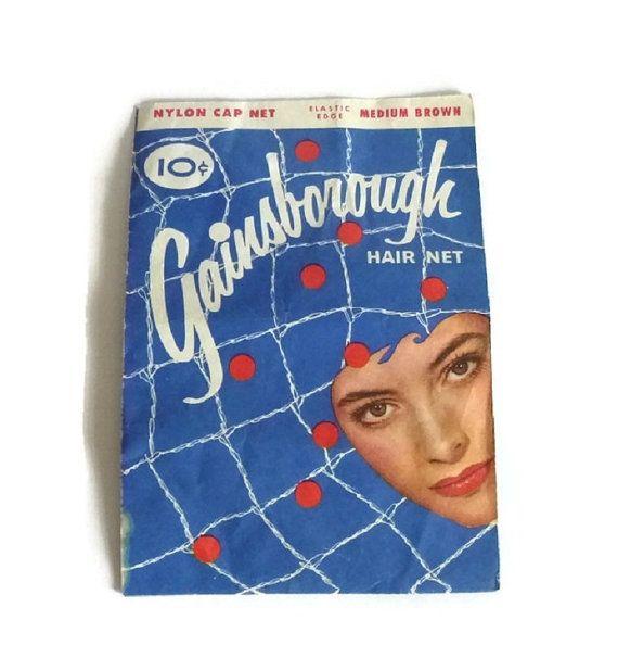 1940's Hair Net Vintage Hair & Beauty by PopcornVintageByTann