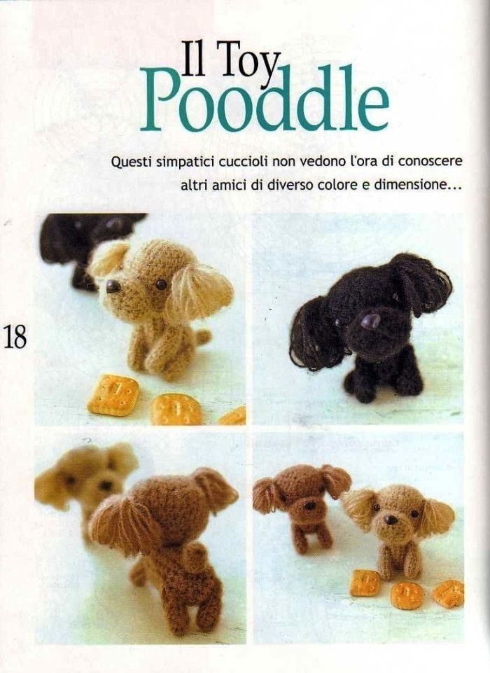 Crochet Amigurumi Puppy Dog PATTERN ONLY, Jack Pup, pdf Stuffed ... | 961x700
