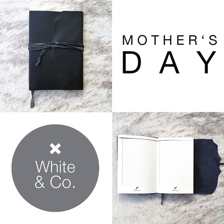 So excited to announce we are now stocking these classic Leather Journals…and just in time for Mother's Day too! The perfect gift for your lovely Mum to record all her fondest memories of your childhood. www.whiteandco.com.au