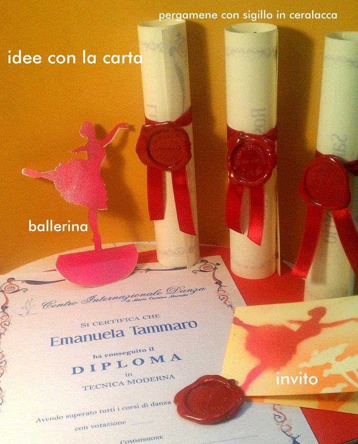 #ballerine, scuola di ballo #paper