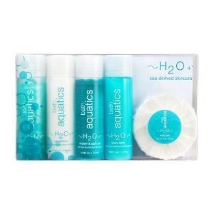 H2O Plus Refreshing Bath Aquatics Bath  Body, 5 Piece Travel Set.