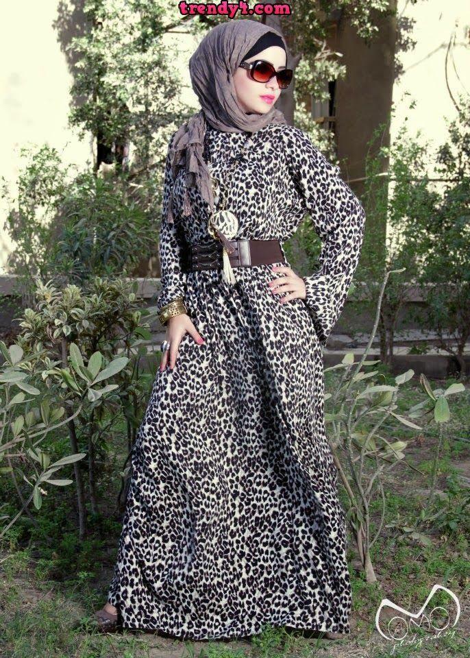 Fall Hijab Fashion Style Ideas 2014