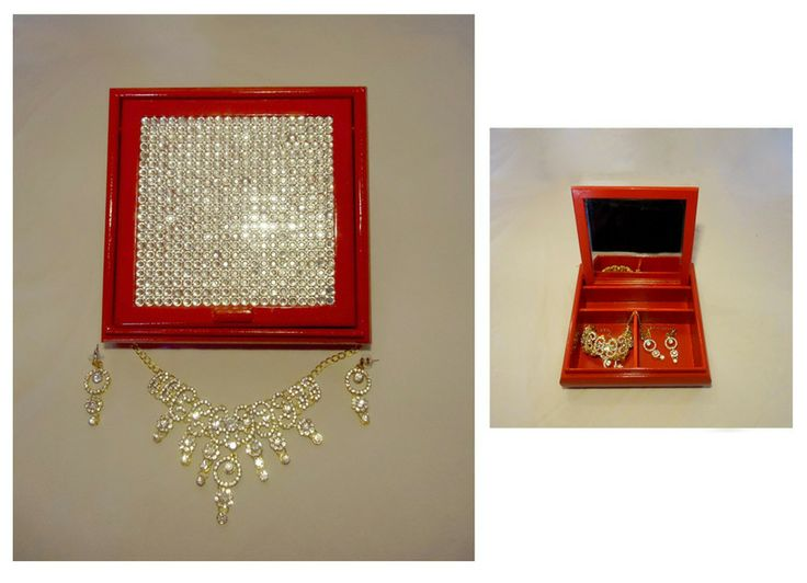 Beautiful Mother's Day hand-crafted jewellery box