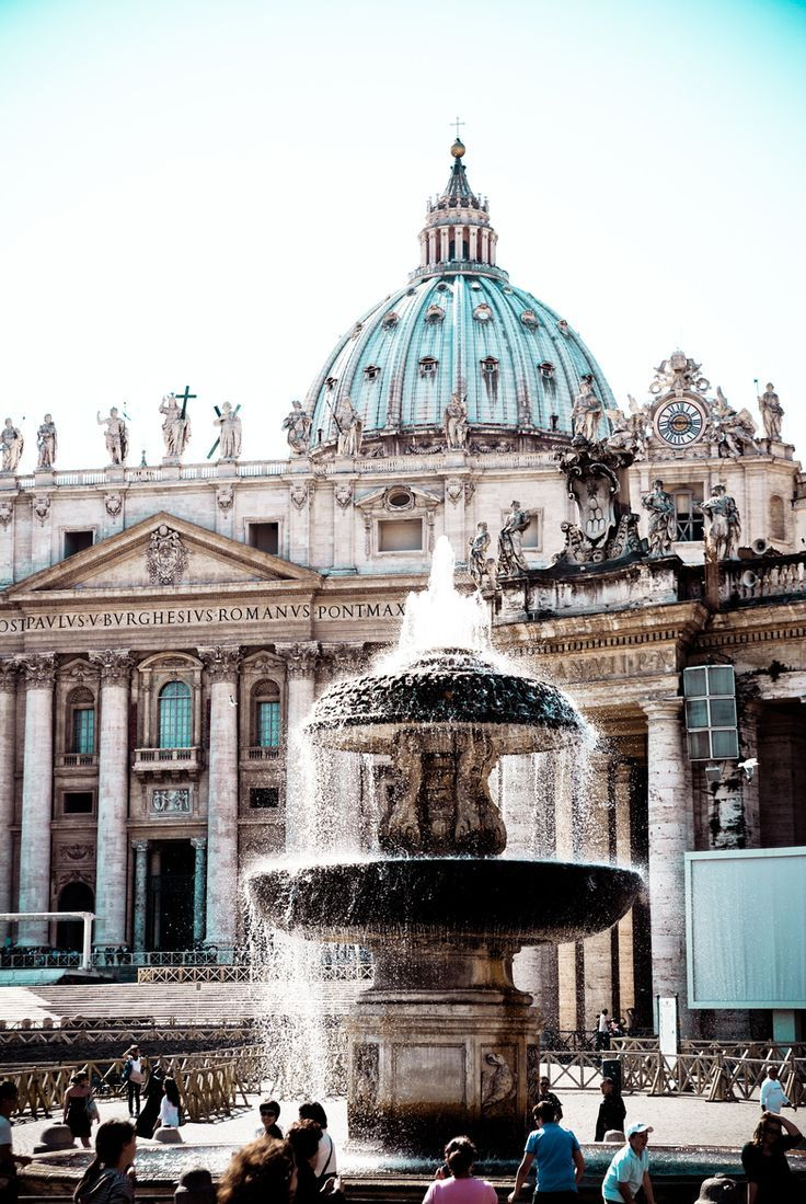 Vatican City, Rome, Italy …  ✈✈✈ Don't miss your chance to win a Free Roundtrip Ticket to anywhere in the world **GIVEAWAY** ✈✈✈ https://thedecisionmoment.com/free-roundtrip-tickets-giveaway/