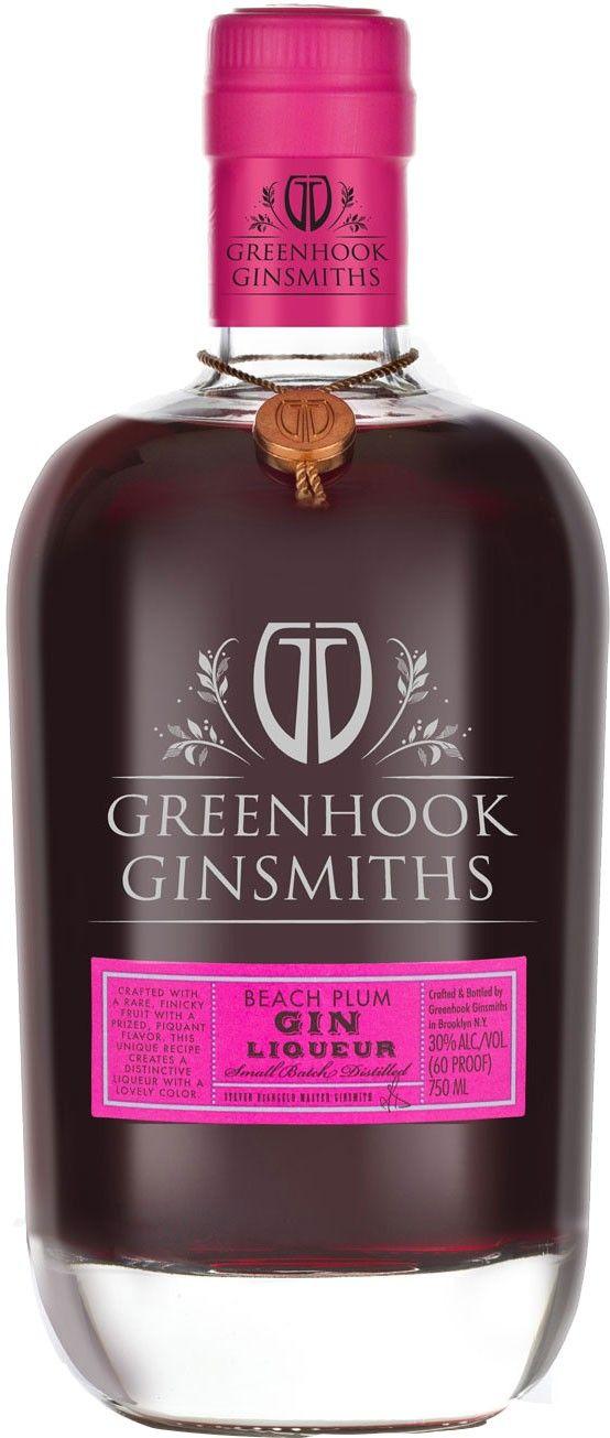 Greenhook Ginsmiths Beach Plum Gin Liqueur | @Caskers