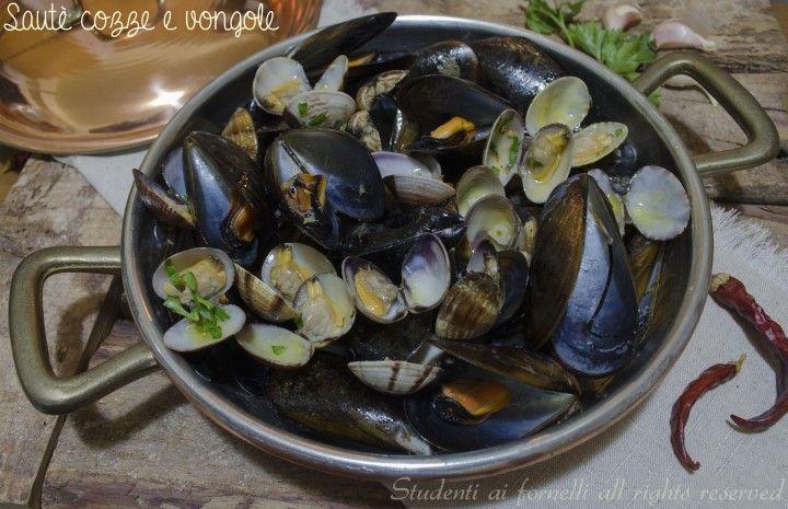 sautè cozze e vongole ricetta tradizionale di pesce facile (1)