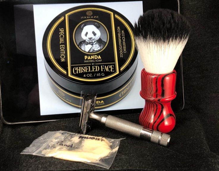 #SOTD #wetshaving #shavelikegrandpa  Razor: Rockwell 6c on 3 Brush: Yaqi Angry Zebra Synthetic Soap: Chiseled Face Panda