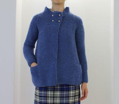 Daniela Gregis hand knitted bell cardigan