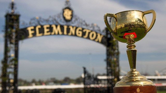 2015 Cup in front of Flemington Race Course