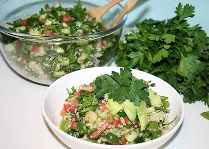 Quinoa Tabouli Salad | Reboot With Joe