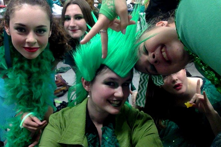 Last night of The Wiz :( Behind the scenes pictures!! ((The mohawk is totally natural by the way))
