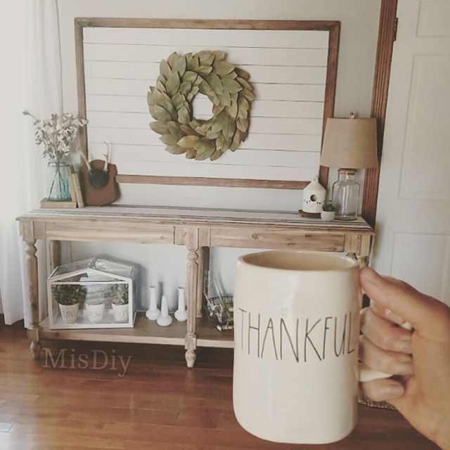 Shiplap statement frame- perfect way to add some shiplap without it being overly farmhouse