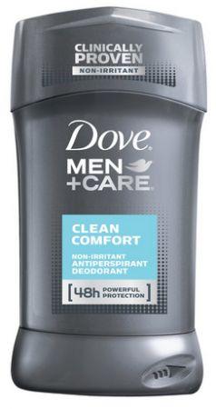 Dove Men+Care Antiperspirant Deodorant Stick, Clean Comfort 2.7 oz