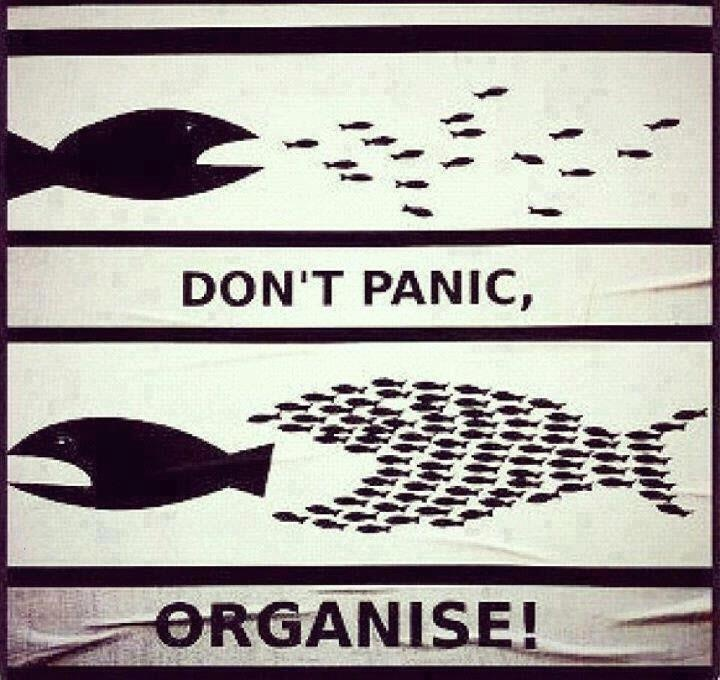 together you can beat everything: Life, Inspiration, Quotes, Don'T Panic, Funny, Organize, Don T Panic, Things