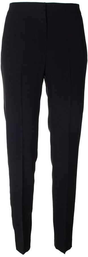 MSGM Crepe Straight Trousers