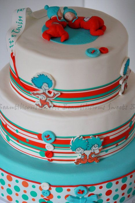 Thing 1 And Thing 2 Baby Shower Theme | Dr. Seuss   Thing 1 And