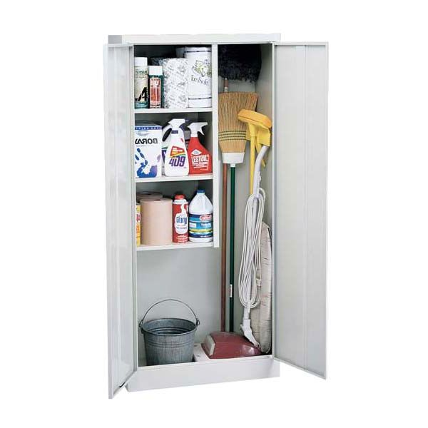 "Classic Series Janitorial Supply Cabinet - 30""W x 15""D x 66""H at SCHOOLSin"