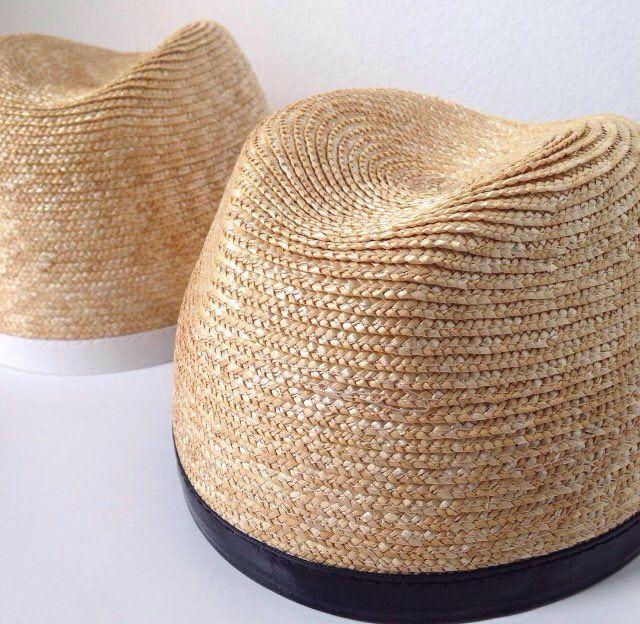 Veronika Cugura Accessories #design #straw #hats #collection #creativity #designer