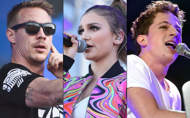 Some big names are heading to Jingle Ball: The annual event announced Thursday that Charlie Puth, Fifth Harmony, Daya, and Diplo are among the major acts performing at this year's concert.    Last year's lineup included Demi Lovato, One Direction, Ellie Goulding, The Weeknd, Nick Jonas, and Fall Out Boy. The complete lineup for the 2016 edition will be announced Oct. 11.