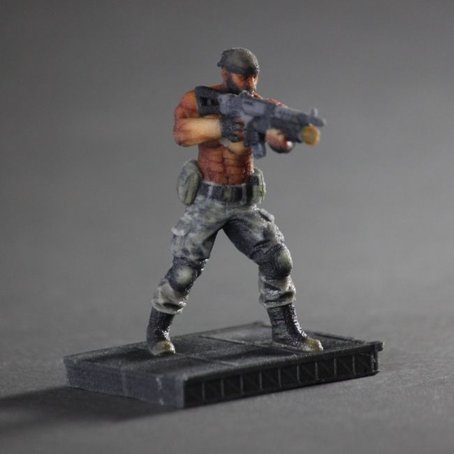 Marcus Tyler 3D Print from the Game Primal Carnage