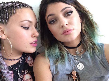 Telana Lynum and Kylie Jenner