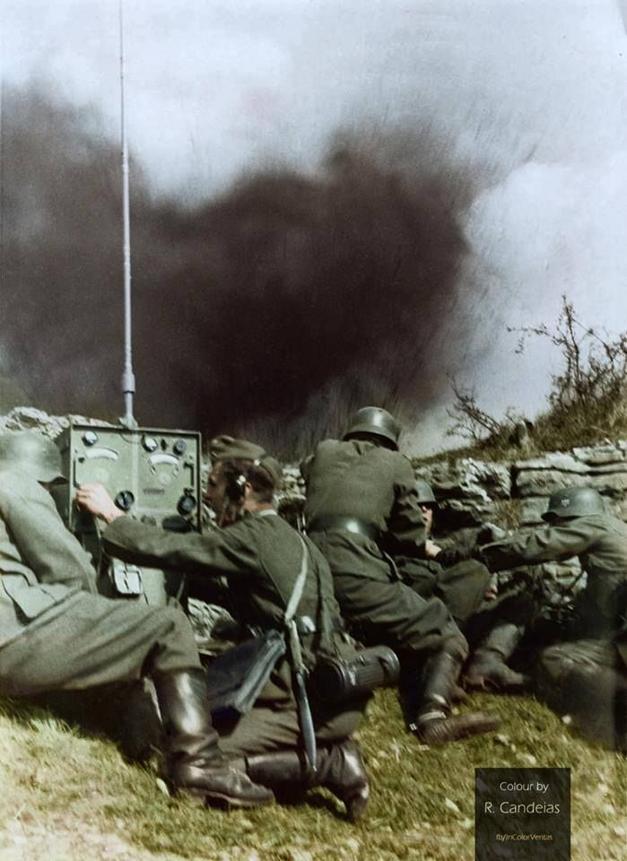 Фото WW2 Colourised Photos.