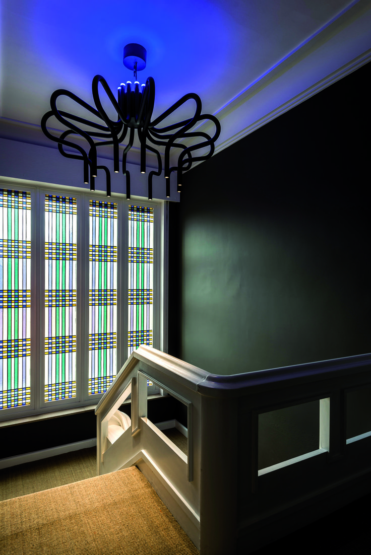 King George at Bo Maison Bed&Breakfast #TAL #lighting #design #chandelier