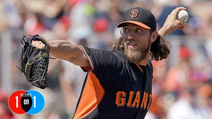 Championship? Don't matter now. Cy Young? Don't care. Enter the mind of Madison Bumgarner