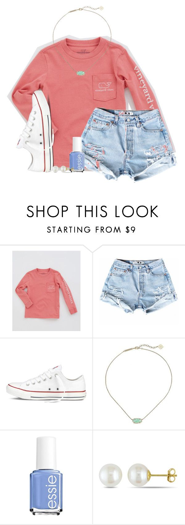 """""""what's on my iphone <3"""" by ellaswiftie13 ❤ liked on Polyvore featuring Converse, Kendra Scott, Essie and Miadora"""