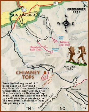 Now that it's March it's time to get to Mt. Leconte, Great Smoky Mountains National Park. Hike details to Chimney Tops