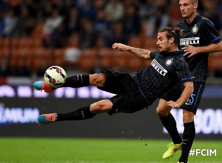 Pablo Daniel Osvaldo. Inter vs Atalanta.