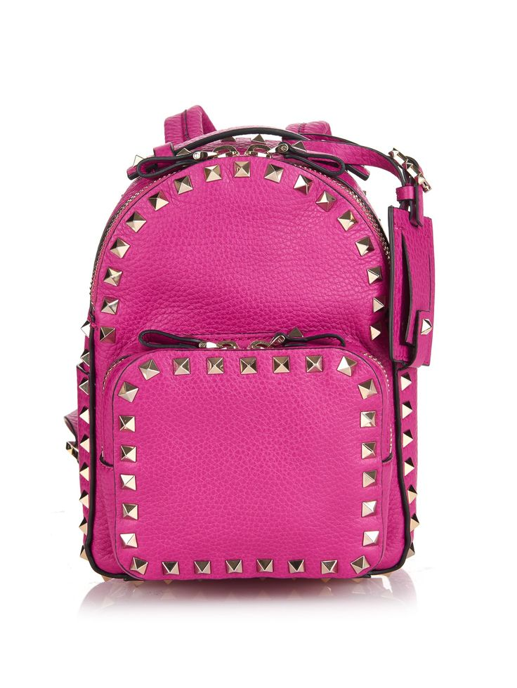 Rockstud leather mini backpack | Valentino | MATCHESFASHION.COM UK
