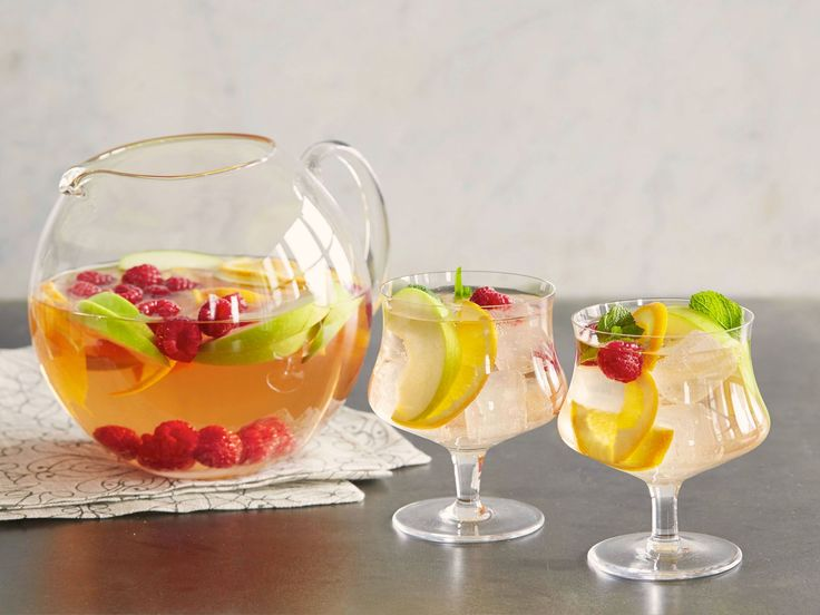 Rose Sangria Spritzer recipe from Bobby Flay via Food Network